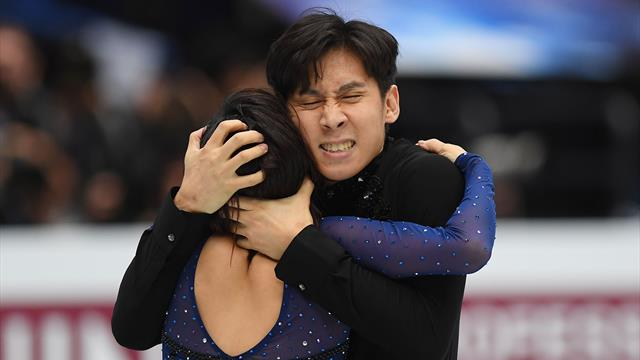 Chinese pair Sui Wenjing and Han Cong take pairs crown