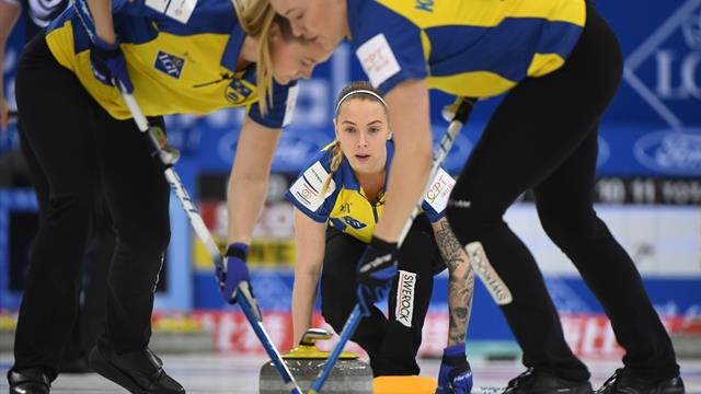 Sweden in pole position after thrilling win over USA