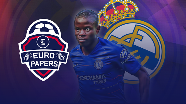 Euro Papers: Zidane's Real Madrid return sparks Kante swoop
