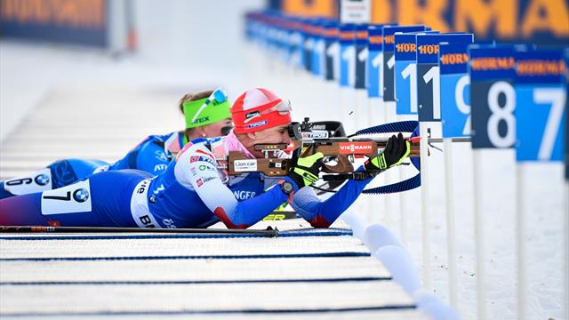 Kuzmina claims overall sprint title