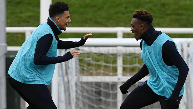 Sancho or Hudson-Odoi could start against Czech Republic, says Southgate