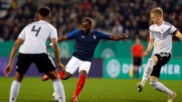 Clever Ikone free-kick sparks France U21 fightback against Germany U21