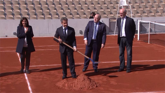 Roland-Garros inaugura su nueva pista, la tercera más grande del complejo