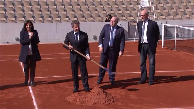 Roland-Garros presents its new court Simonne-Mathieu