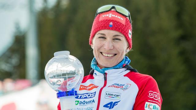 Kuzmina takes Sprint Crystal Globe on disastrous day for Vittozzi
