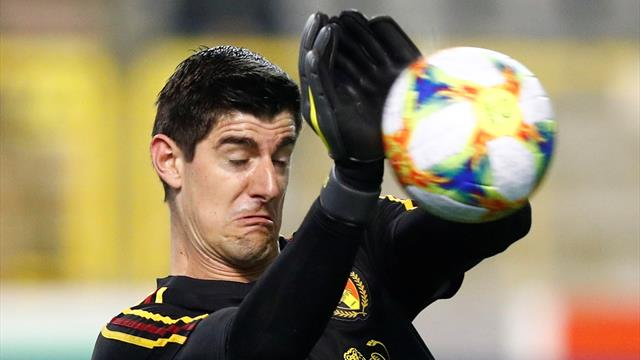 'It's a disaster!' Courtois howler gifts Russia goal
