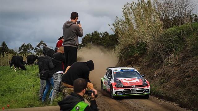 Herczig heads ERC start order for day two of Azores