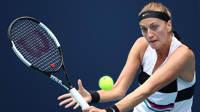 Kvitova se balade, Andreescu poursuit sa folle série