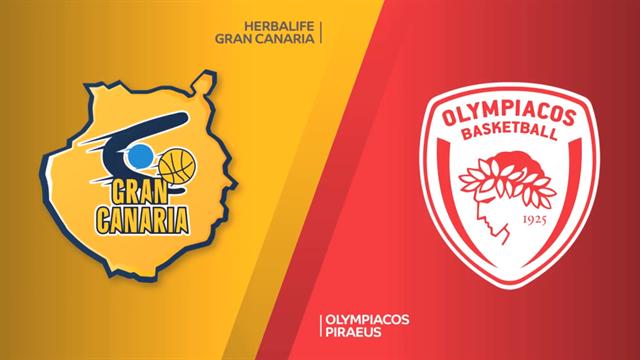 Highlights: Herbalife Gran Canaria-Olympiacos Pireo 90-67