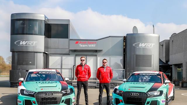 Wraps come off Leopard Racing WTCR Audis