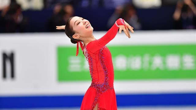 Elizabet Tursynbaeva marque l'histoire avec son quadruple saut