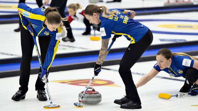 Sweden hold their nerve to top curling standings