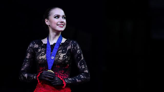 Olympic champion Zagitova claims first world crown