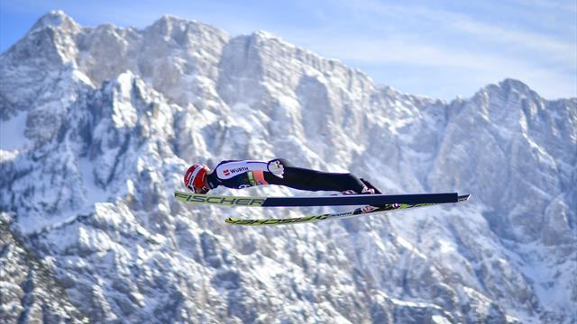 Eisenbichler beats Kobayashi to win maiden World Cup event in Slovenia