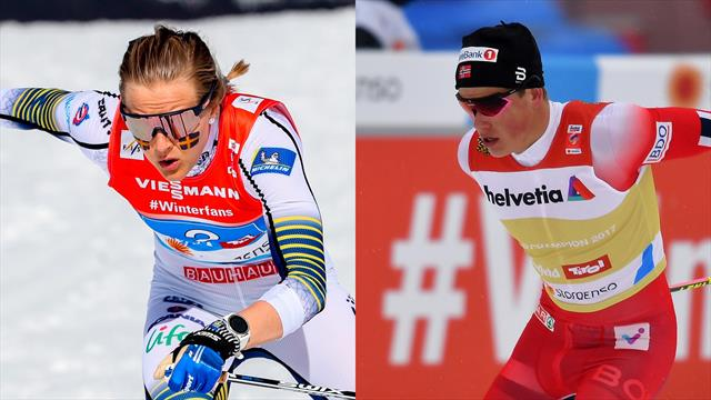 Nilsson secures Sprint globe, Klaebo victory gives him edge over Bolshunov