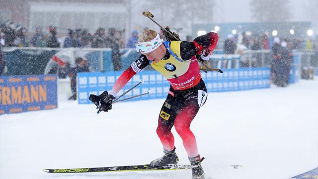 Précision au tir, rapidité extrême sur les skis : Boe signé une victoire magistrale sur le sprint