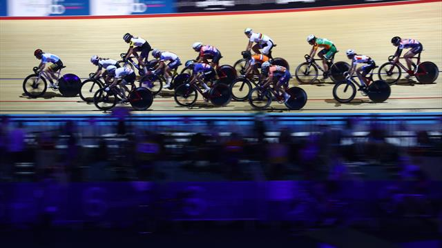Stephen Hall takes gripping points race at Six Day Manchester