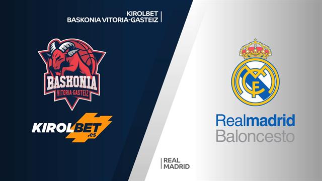 Highlights: Kirolbet Baskonia-Real Madrid 86-76