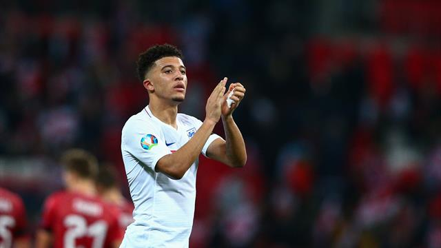 Manchester United officials 'meet with Jadon Sancho's representatives'