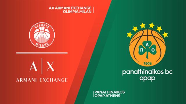 Highlights: AX Armani Exchange Milano-Panathinaikos OPAP Atene 83-95