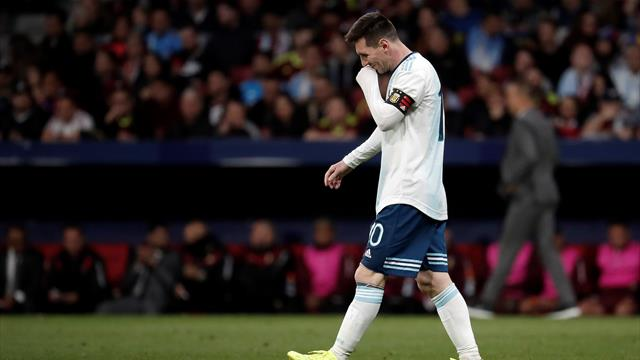 Argentina 1-3 Venezuela: Lionel Messi unable to prevent disappointing defeat