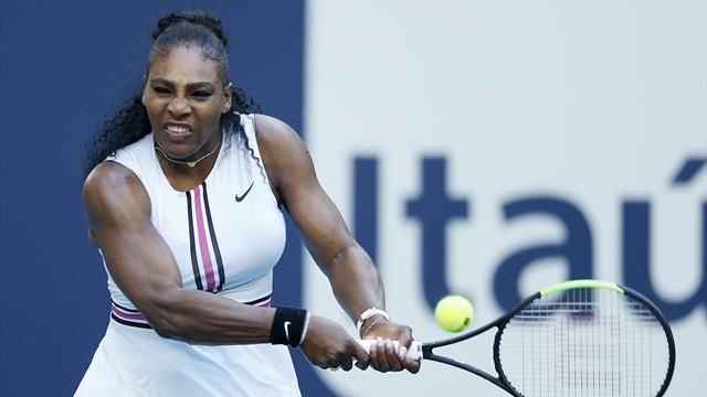 Serena laisse un set en route, Kerber va retrouver Andreescu