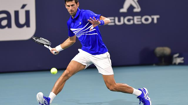 Djokovic starts bid for seventh Miami title with straight-sets win over Tomic