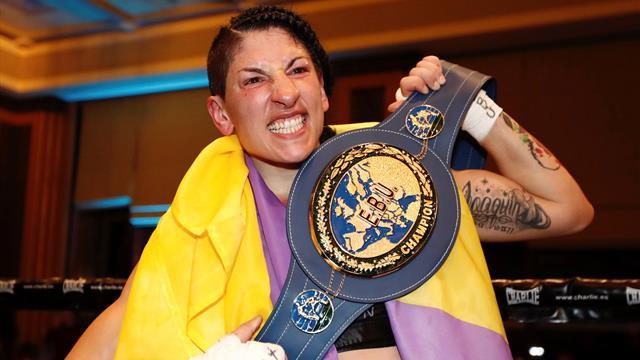 Miriam 'La Reina' Gutiérrez se proclama campeona de Europa de peso ligero a los puntos