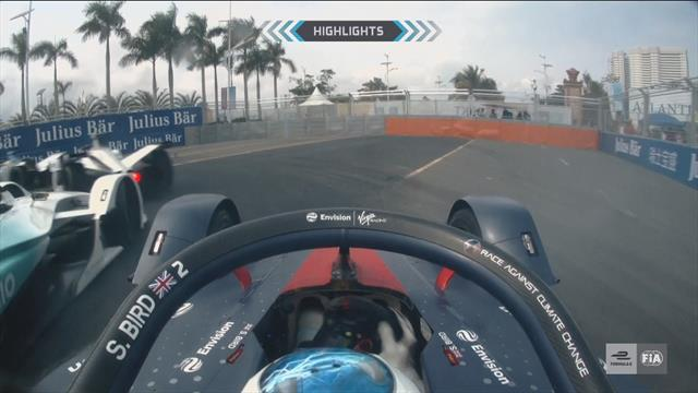 Highlights: Jean-Eric Vergne wins action-packed race