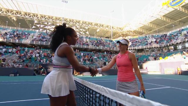 Serena Williams, blessée au genou, forfait à Miami — Tennis