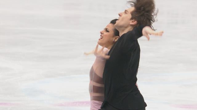 Mundial Saitama: Sara Hurtado y Kirill Jalyavin rozan el top 10 y logran el duocécimo lugar en danza