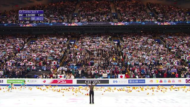 Hanyu gets standing ovation after 'insane' performance