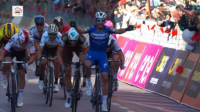 'He can't stop winning!' – Alaphilippe wins first Monument