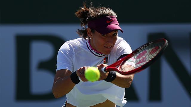 Garcia enchaîne et va croiser Kvitova