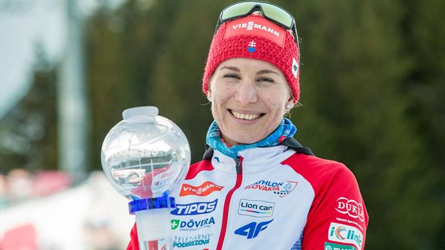 Kuzmina leads from the front as she secures World Cup glory