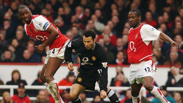 Гиггз: «Мне не нравился «Арсенал»: Виейра играл грубо, а у Пети были длинные волосы»