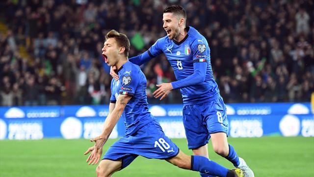 Clasificación Eurocopa 2020, grupo J: La nueva Italia ya ilusiona, pero Grecia y Bosnia no fallan