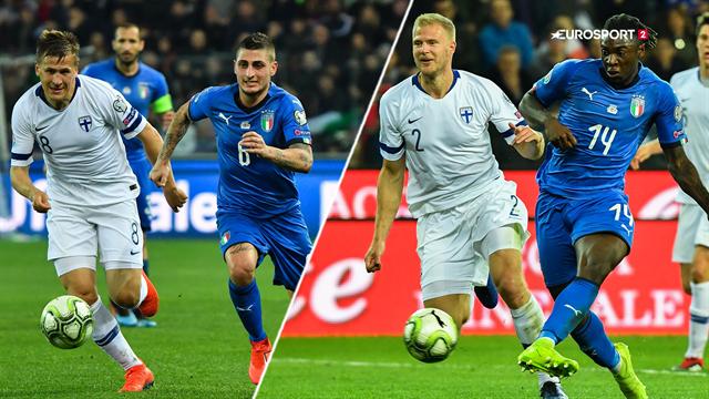 Highlights: Angrebskometen Moise Kean cementerede Italiens 2-0 sejr over Finland
