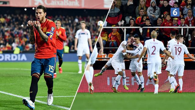 Highlights: Ramos' panenka sikrede Spanien tre point mod Norge