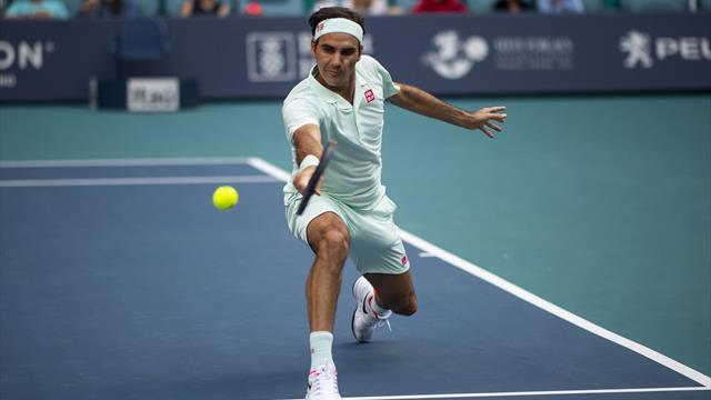 Passings, amorties... Federer a dû sortir le grand jeu pour venir à bout d'Albot