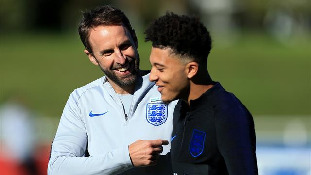 Sancho set to start for England against Kosovo