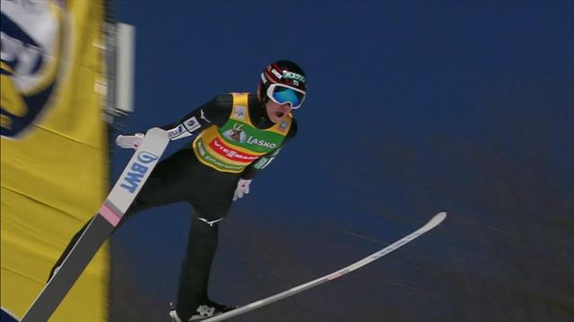 Рёю Кобаяси улетел на 252 метра и установил новый рекорд трамплина
