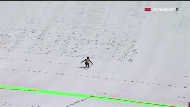 Salto assurdo di Ryoyu Kobayashi a Planica: un capolavoro da 252 metri!