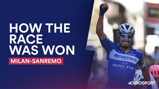 How The Race Was Won: Alaphilippe keeps his wits to win in Italy