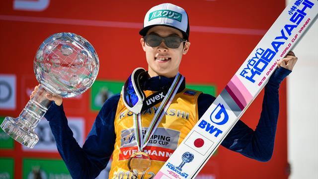 """""""Wir ziehen den Hut"""": Kobayashi schnappt sich auch Skiflug-Weltcup"""