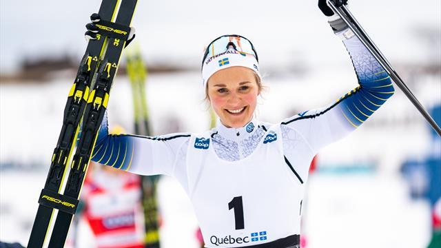 Нильссон выиграла гонку преследования в Квебеке, Непряева – 12-я