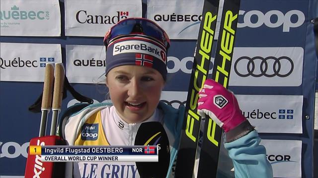World Cup champion Oestberg - It's an 'unbelievable' feeling