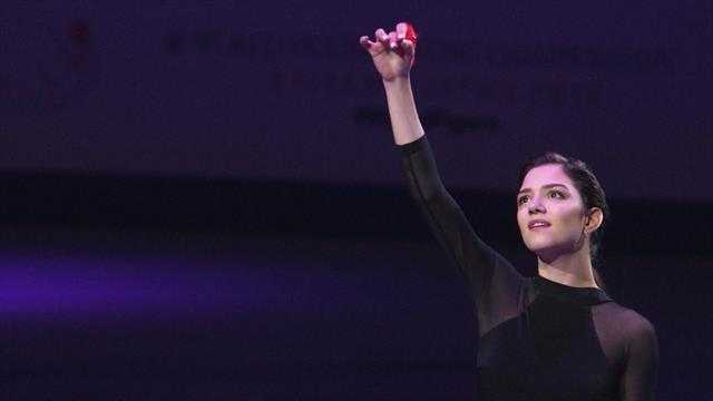 Медведева простилась с ЧМ чувственным и нежным танцем