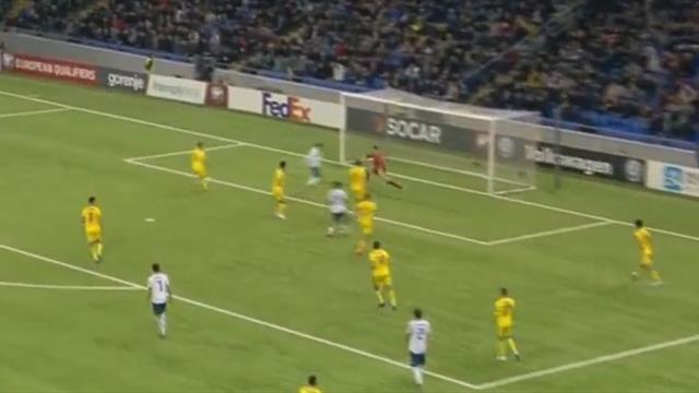 Россия нокаутировала Казахстан четырьмя мячами. Полюбоваться на них можно прямо тут