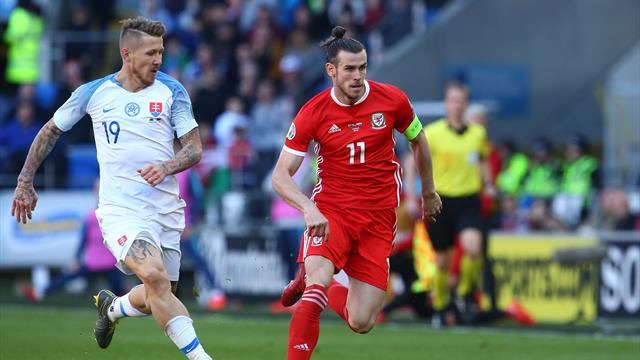 Clasificación Eurocopa 2020, Gales-Eslovaquia: Con lo justo y sin el mejor Bale (1-0)
